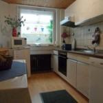 Die Küche der Ferienwohnung