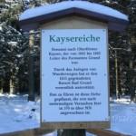 """Stempelstelle """"Harzer Wandernadel"""" - Kaisereiche"""